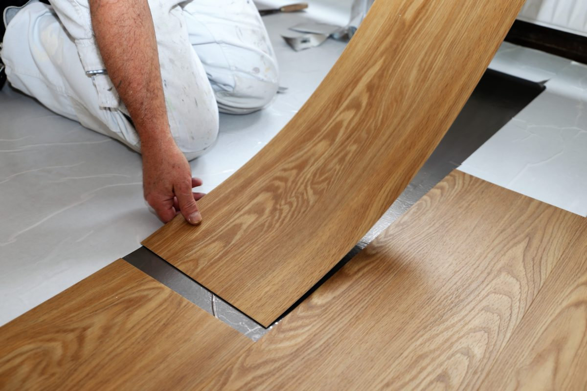 rv interior restoration, RV Interior Restoration 101: Choosing Vinyl Flooring