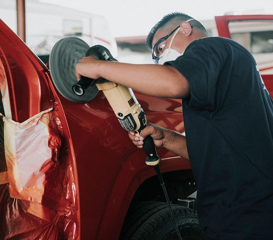 Auto Painting Services, Paint