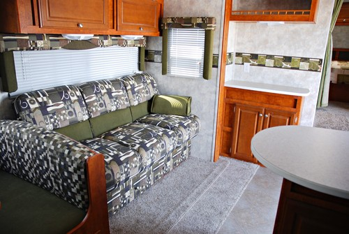 RV interior restoration