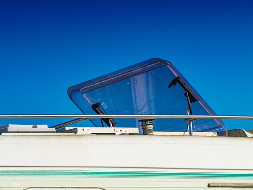 rv sunroof, How To Dim the Light Coming Through Your RV Sunroof