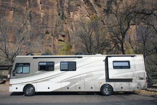 rv sunroof, We Offer Exterior Modifications Ranging From Paint Jobs to Sunroofs